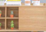 La madera para los muebles de salón