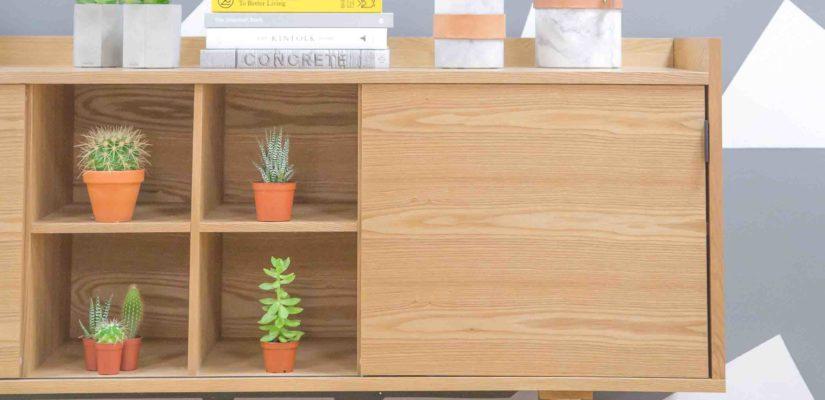 la madera para muebles de salon